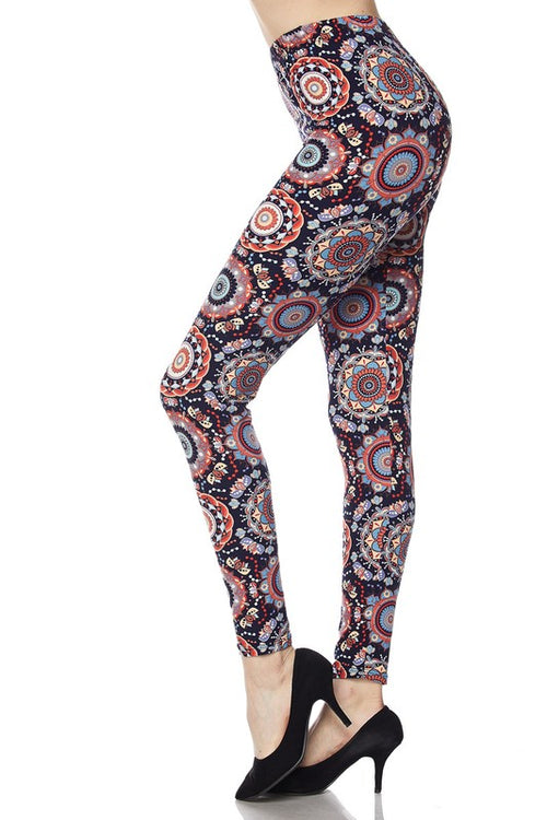 Imaginary Kaleidoscope Brushed Leggings
