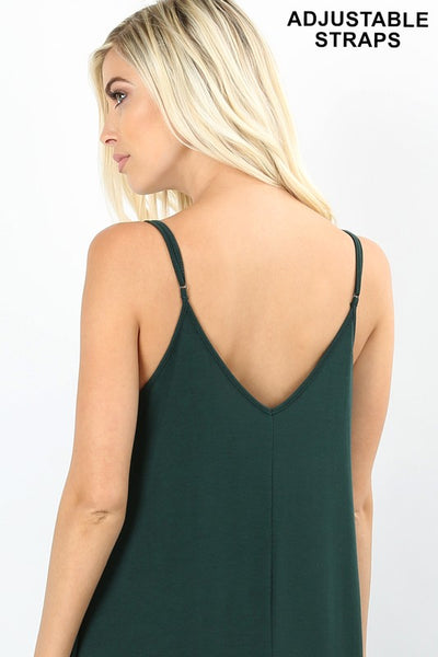 Premium Cami Maxi Dress- Variety of Colors
