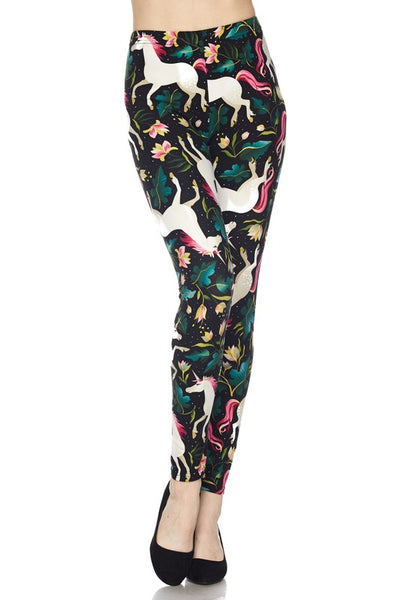 Fantasy Unicorn Buttery Soft Ankle Leggings