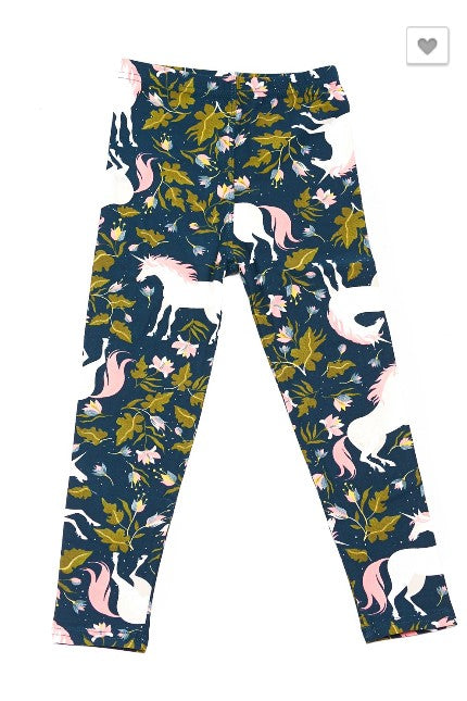 Elegant Unicorn Leggings - Kids