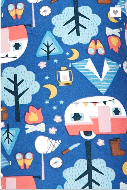 Happy Camper Leggings - Kids