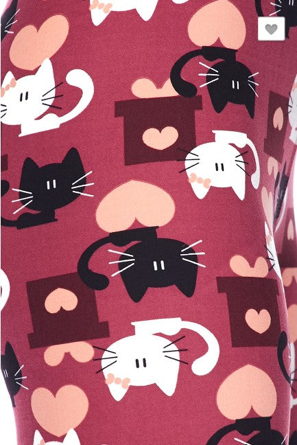 Lovely Kitten Leggings - Kids