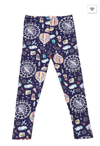 Night at the Carnival Leggings - Kids