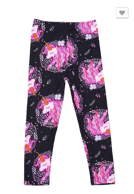 Sleeping Unicorn Leggings - Kids