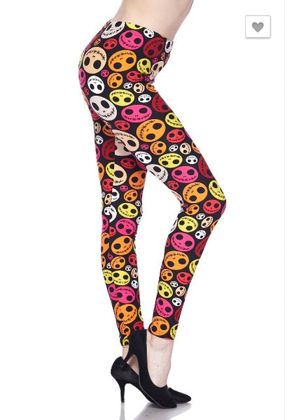 Creepy Doll Leggings
