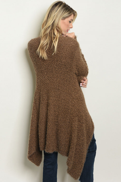 Ultra Soft Mocha Cardigan