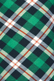 Green Tartan Print Buttery Soft Leggings - Kids