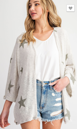 Living With The Stars Cardigan