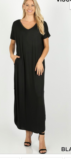 The Ultimate  Maxi Dress - Varous Colors