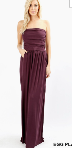 Famous Tube Top Maxi - Various Colors