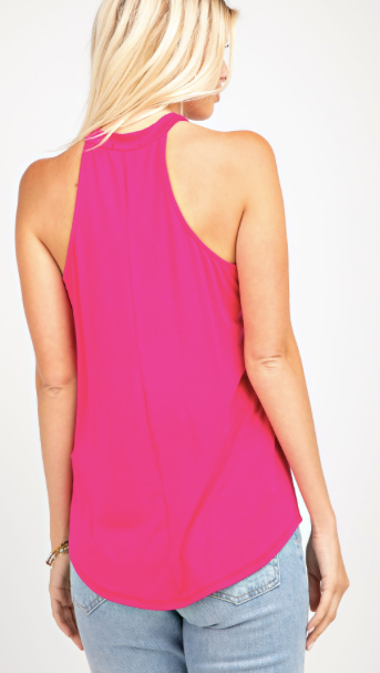 Cut Out Halter- 2 Colors