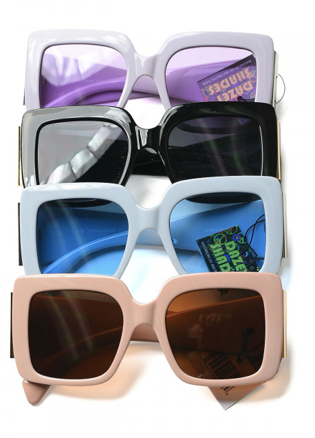 Assorted Colored Sunglasses