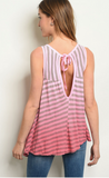 Open Stripe Tunic