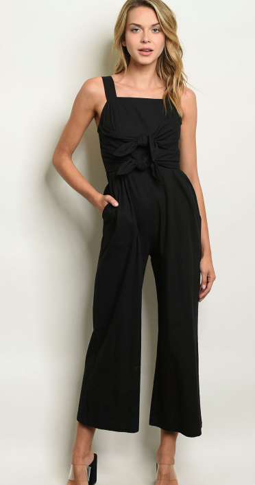 Casual Jumpsuit W/ Pockets - 2 colors - Online Only