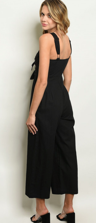 Double Tie Jumpsuit - Online Only