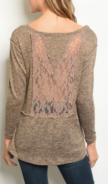 Lace and Love Top