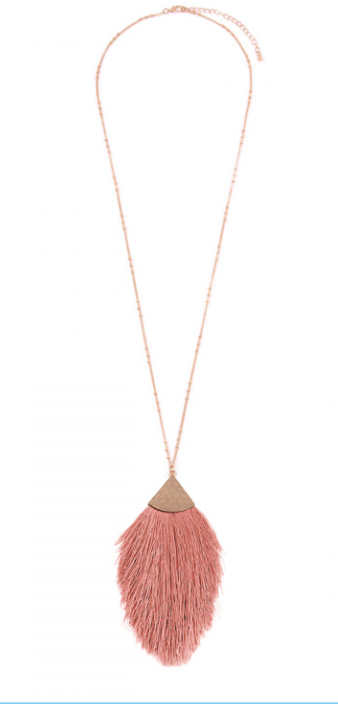 Tassel Pendant  ( various colors )