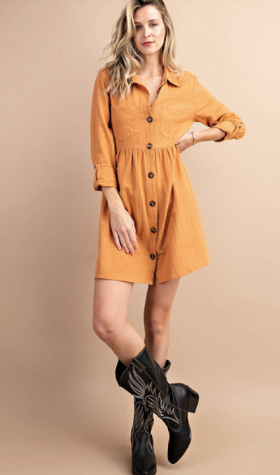 Fall Vibes Dress - Pre Order ETA 9/1