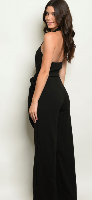 Sexy Plunge Jumpsuit