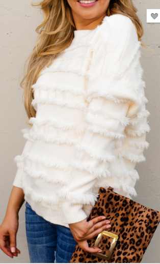 Fall Fringe Sweater