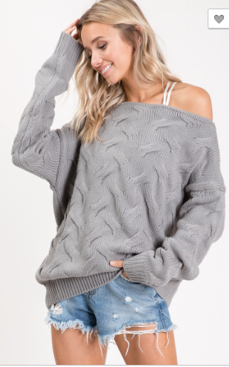 Cozy Fall Trend Sweater
