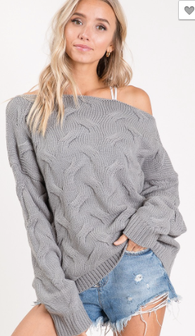 Cozy Fall/Winter Trend Sweater