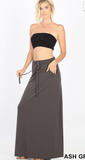 The CAZ Drawstring Pocket Skirt