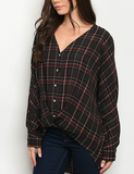 Fall-Over Plaid