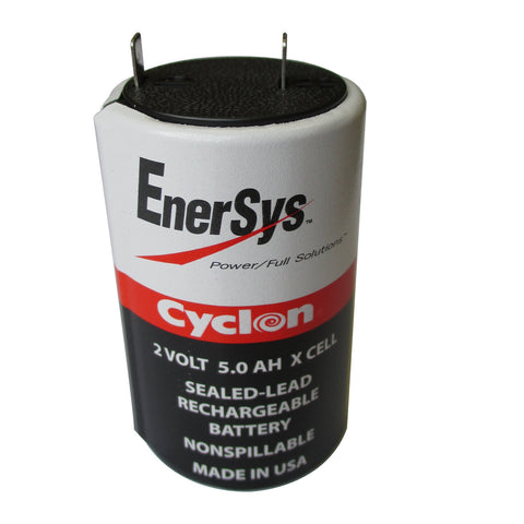 Enersys Cyclon 0800-0004 Battery - 2 Volt 5Ah X Cell