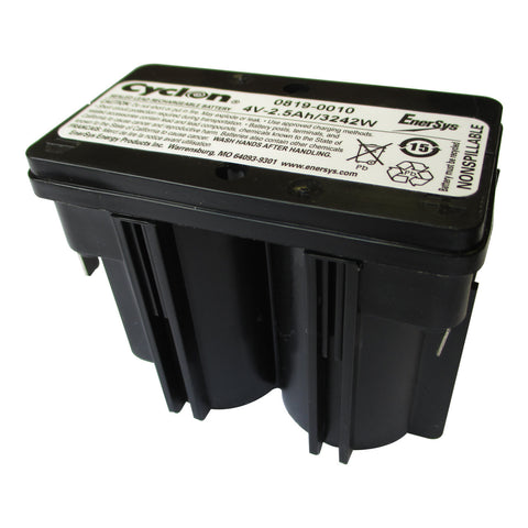 Enersys Cyclon 0819-0010 Battery - 4 Volt 2.5 Ah - RocketDistributing.com