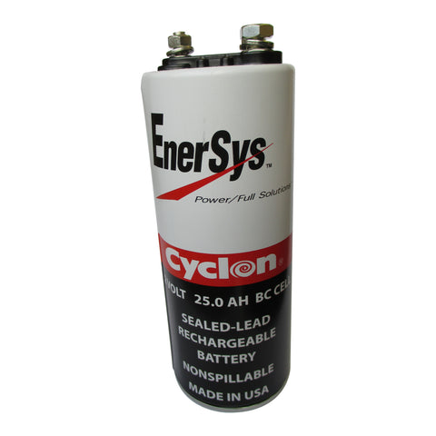 Enersys Cyclon 0820-0004 Battery - 2 Volt 25 Ah BC Cell