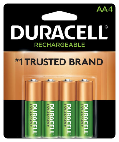 Duracell Precharged AA Rechargeable Batteries DX1500B4N - 4 Pack