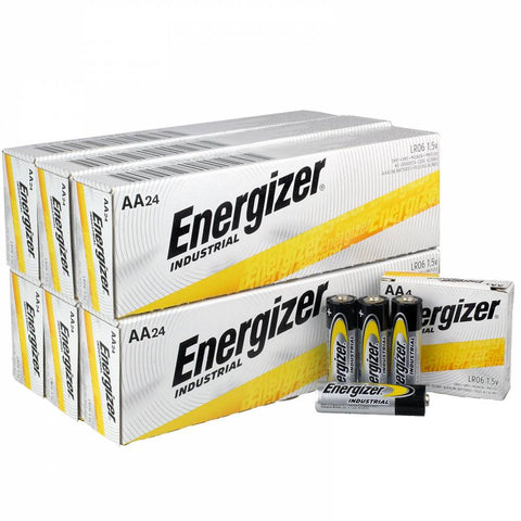 Energizer Industrial AA Batteries - EN91 Wholesale Case of 144