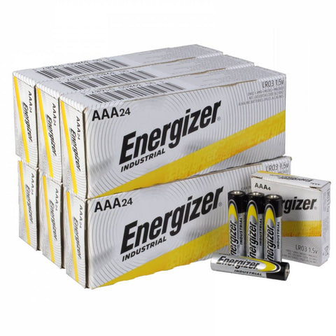 Energizer Industrial AAA Batteries - EN92 Wholesale Case of 144