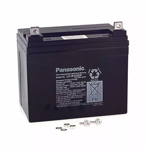 Panasonic LC-LA1233P Battery - 12 Volt 33 Ah