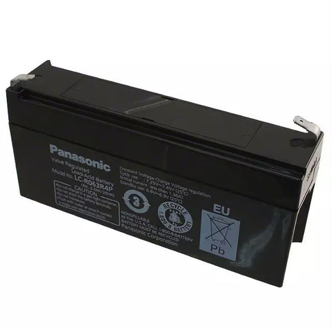 Panasonic LC-R063R4P Battery - 6 Volt 3.4 Ah