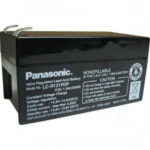 Panasonic LC-R121R3P Battery - 12 Volt 1.3 Ah