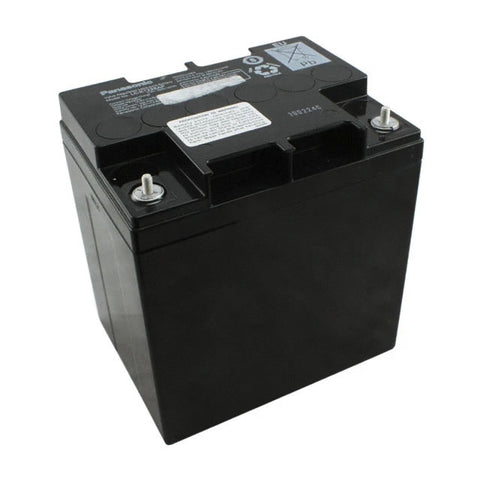Panasonic LC-X1228AP Battery - 12 Volt 28 Ah (Threaded Stud Terminals)