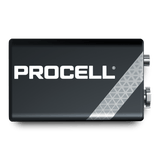 Duracell ® PC1604 Procell ® 9 Volt Alkaline Batteries - 12 Pack