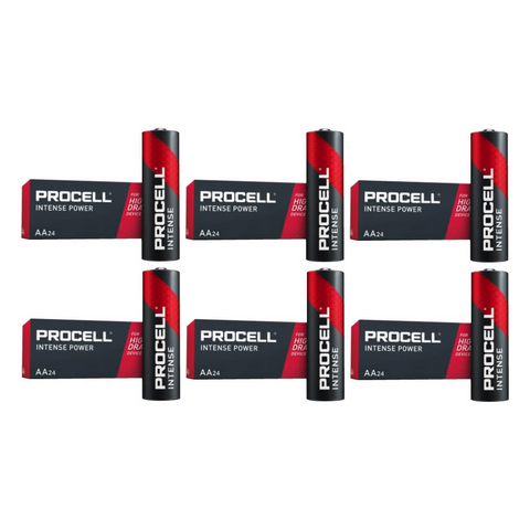 Duracell Intense AA Batteries - PX1500 - 144 Pack