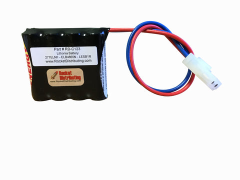 Rocket Distributing RD-C123 Battery