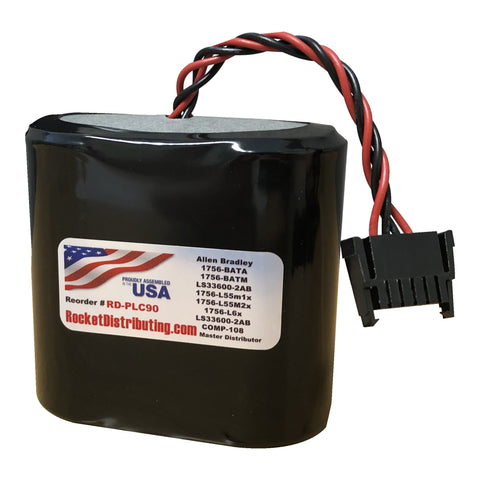 Rocket Distributing RD-PLC90 Battery