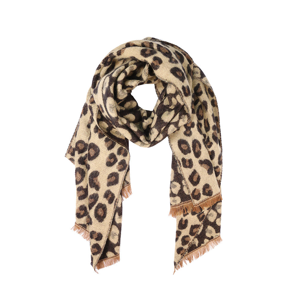 Adalia Scarf - Camel (2 pcs)-Scarves + Wraps-Wholesale-Boutique-Clothing-Accessories