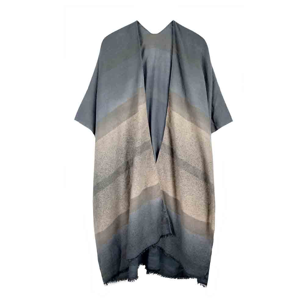 Adara - Gray-Kimonos + Outerwear-Wholesale-Boutique-Clothing-Accessories