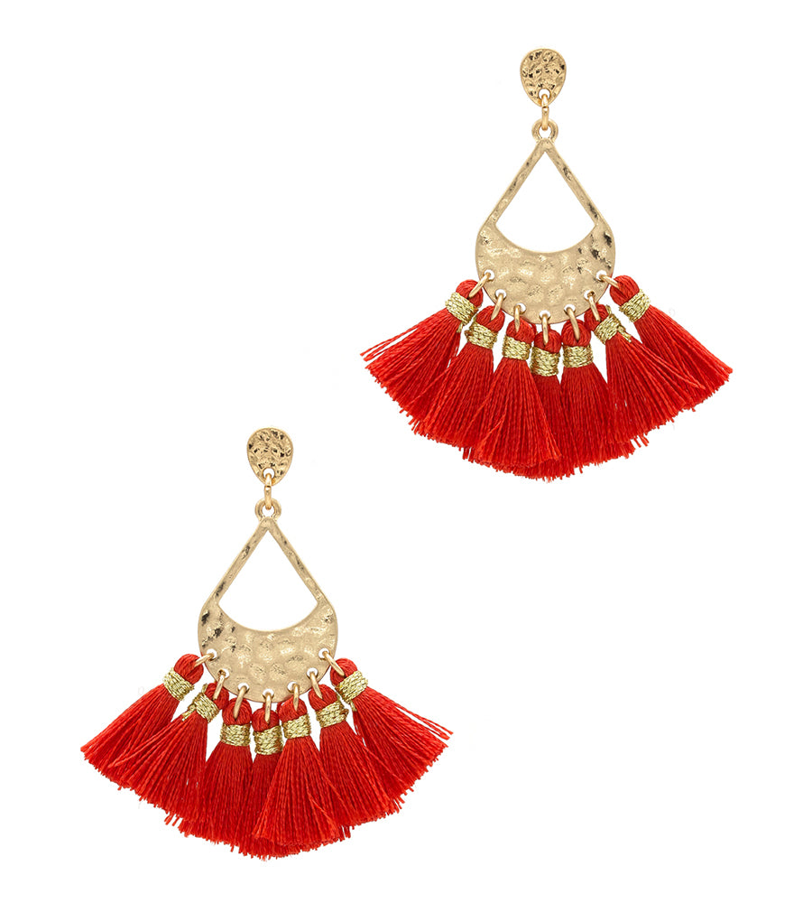 Aleah - Red-Earrings-Wholesale-Boutique-Clothing-Accessories