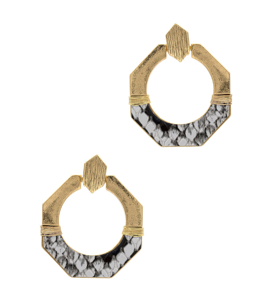 Alexandra - Gray-Earrings-Wholesale-Boutique-Clothing-Accessories