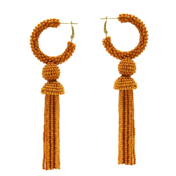 Alyssa - Mustard-Earrings-Wholesale-Boutique-Clothing-Accessories