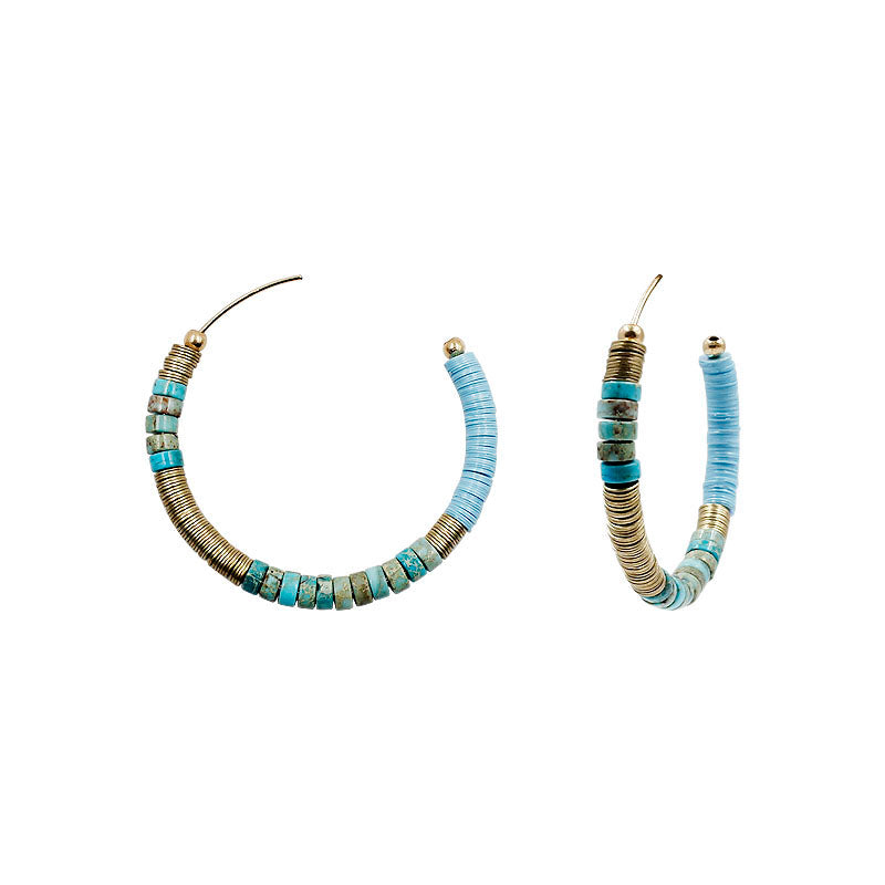 Ariana - Blue-Earrings-Wholesale-Boutique-Clothing-Accessories