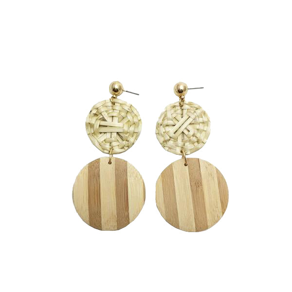 Avi - Natural-Earrings-Wholesale-Boutique-Clothing-Accessories