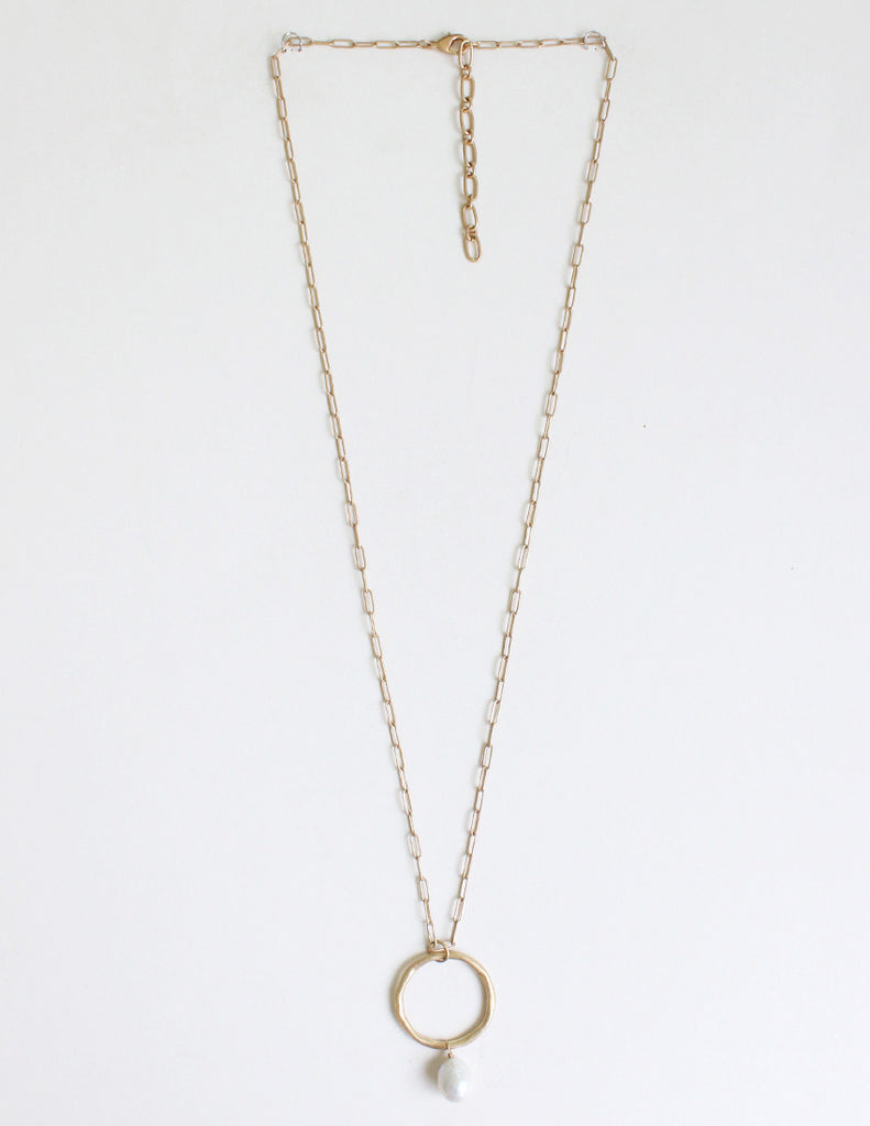 Brinley - Worn Gold-Necklaces-Wholesale-Boutique-Clothing-Accessories